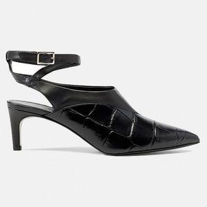 3.1 Phillip Lim Nina Vamp Black Heels